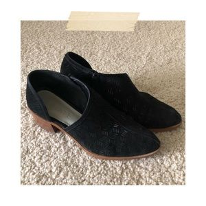 1. State | Black Cut-Out Booties